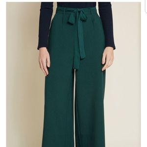Modcloth The Savannah Pant on Hunter Green